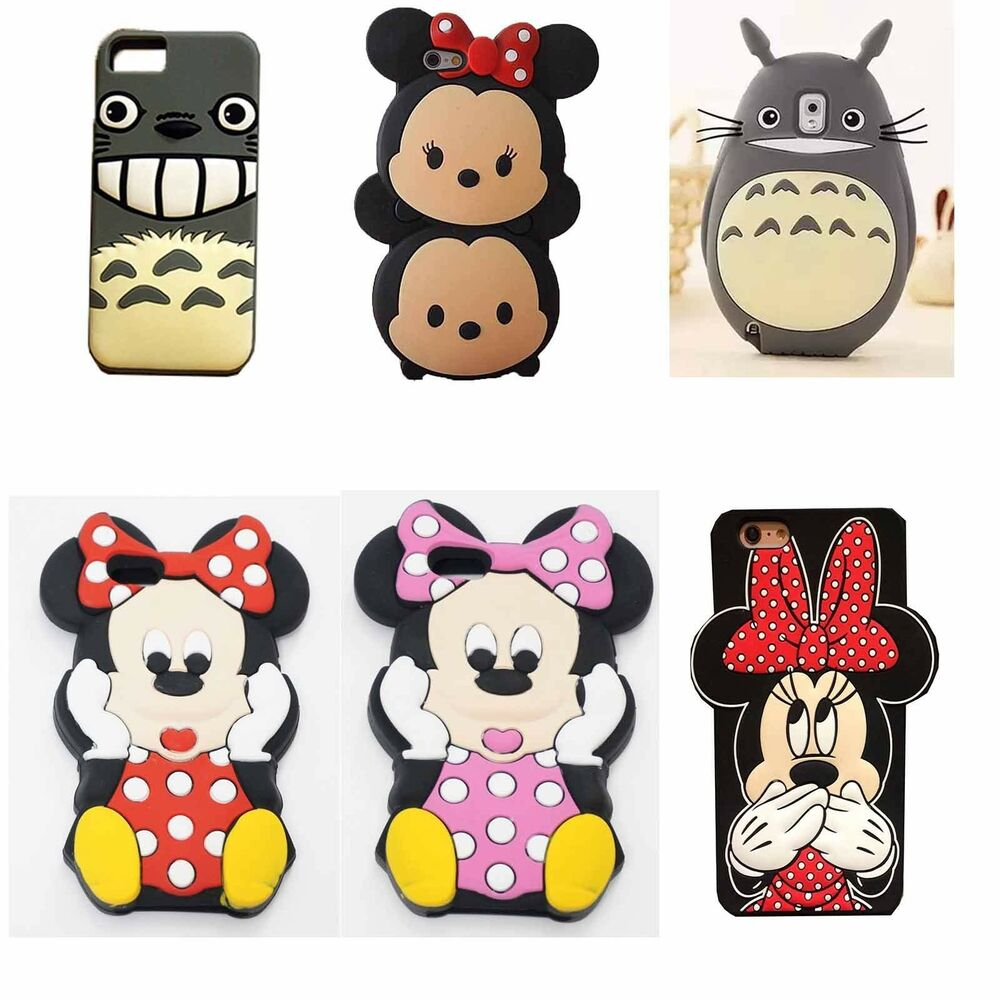 ... Animal Minnie Silicone Rubber Gel Cell Phone Case Cover Skin : eBay