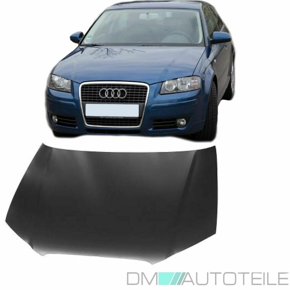 audi a3 8p motorhaube 05 08 auch 8pa sportback alle modelle verzinkt qualit t ebay. Black Bedroom Furniture Sets. Home Design Ideas