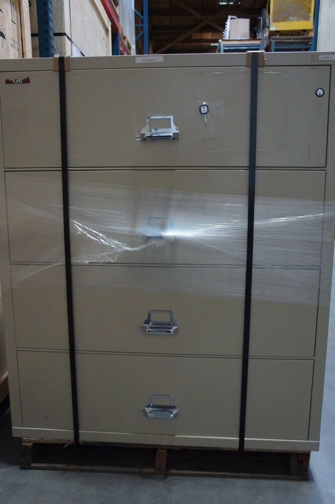 Fireking 4 Drawer Lateral Fireproof File Cabinet 45 Quot W X