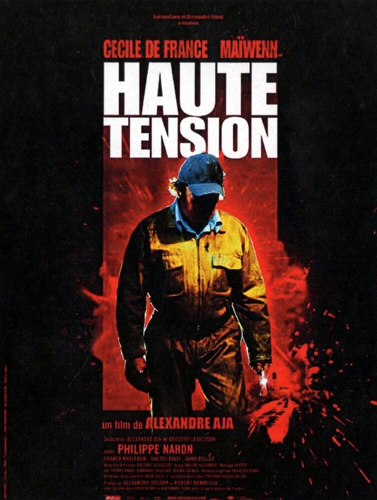 HIGH TENSION Movie Poster RARE Version Haute Tension ...