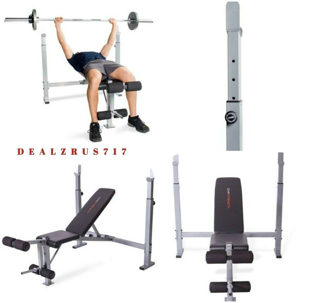 Weight Bench Fitness Lifting Home Exercise Gym Workout Strength Training Olympic Ebay