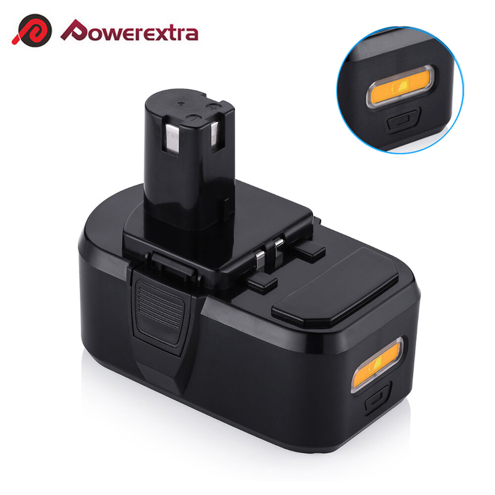 18v 4 5ah lithium ion compact battery for ryobi one p102 p103 p104 p105 p107 ebay. Black Bedroom Furniture Sets. Home Design Ideas
