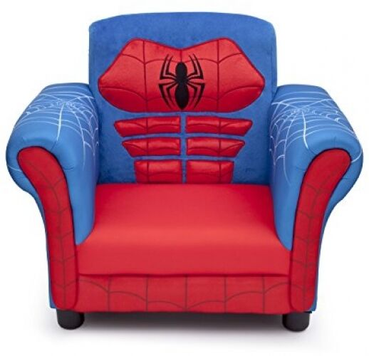 Boys spider man chair children chairs seats bedroom for Kids chairs for boys