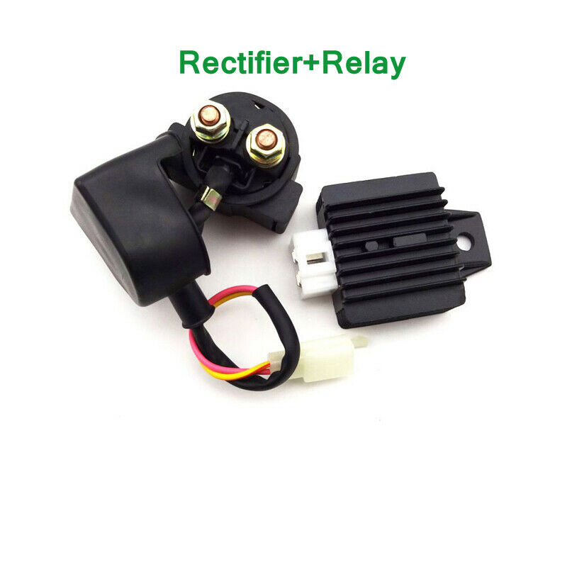regulator rectifier relay 50cc 110cc 125cc chinese atv. Black Bedroom Furniture Sets. Home Design Ideas