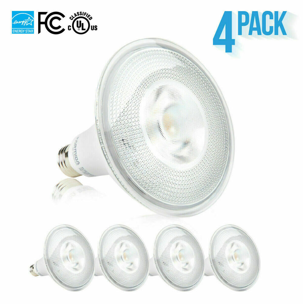 12 x 15w par38 led spot light bulb dimmable recessed 1250 lumens ul es ebay. Black Bedroom Furniture Sets. Home Design Ideas