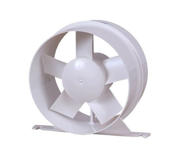 Ducting pipe extractor fan 150mm 6 in line air flow for 8 bathroom extractor fan