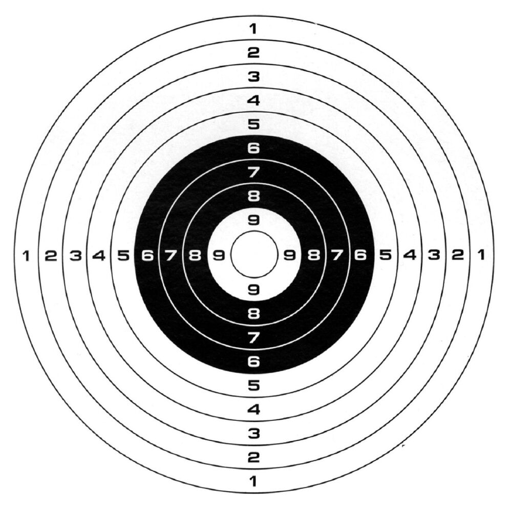 It's just a photo of Simplicity Free Rifle Targets