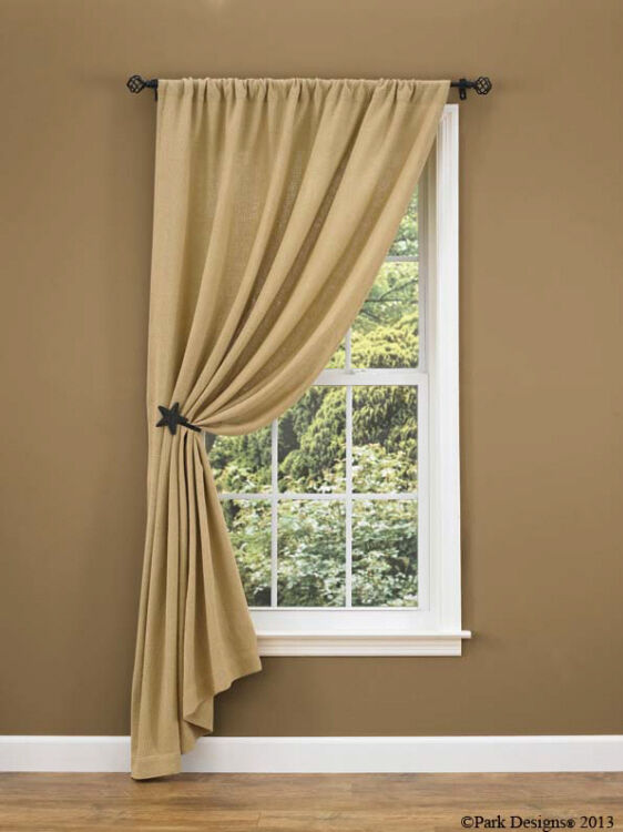 Window Curtain Design Ideas: Burlap By Park Designs