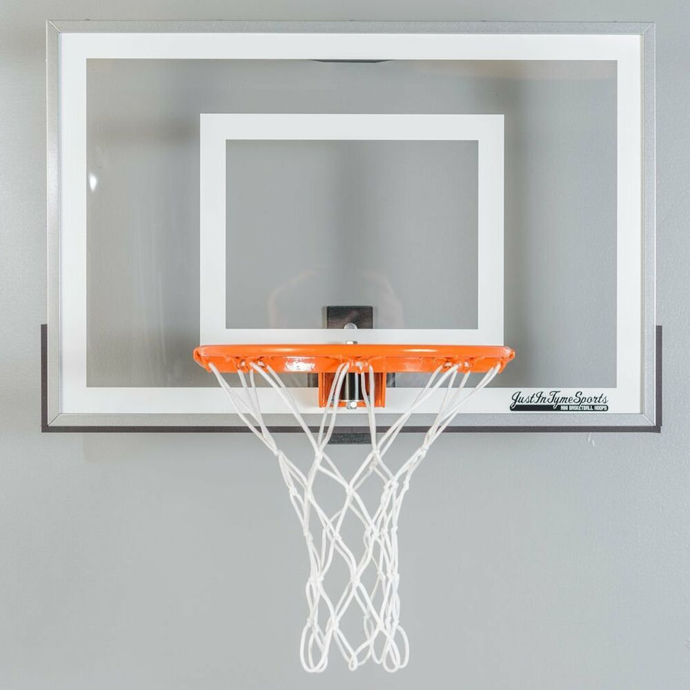 Wall mounted mini basketball hoop mini pro 2 0 steel frame for Basketball hoop for kids room