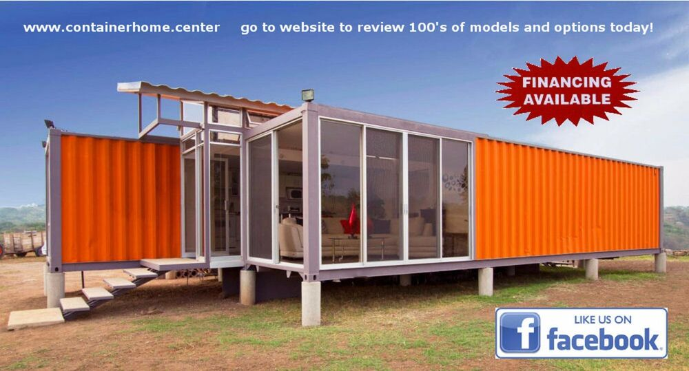 3 40 39 ft atomic container home 960 sqft brand new made in usa ebay - Container homes usa ...