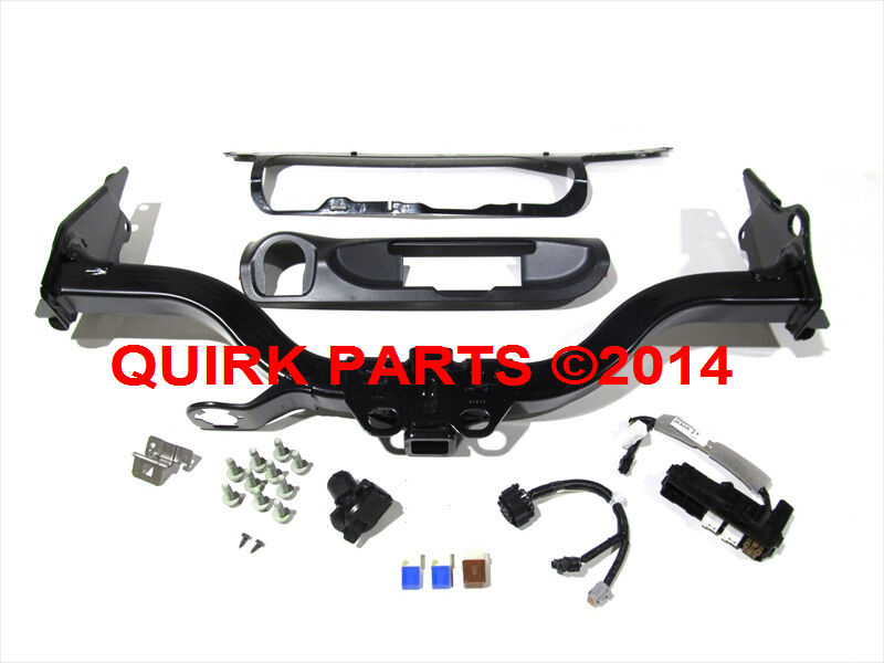 Nissan Pathfinder Towing >> 2013-2014 Nissan Pathfinder Trailer Tow Hitch Harness Bumper Finisher OEM NEW | eBay