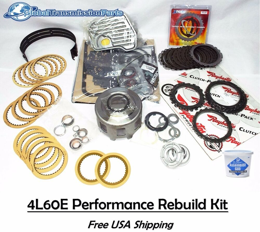 Rebuild Automatic Transmission >> The Best High Performance Super Master Rebuild Kit for GM 4L60E 4L65E 1997-2003 | eBay