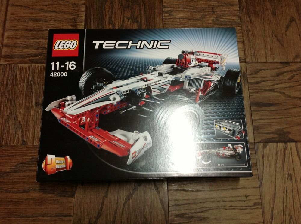 brand new lego technic grand prix racer 42000 nisb 5702014973008 ebay. Black Bedroom Furniture Sets. Home Design Ideas