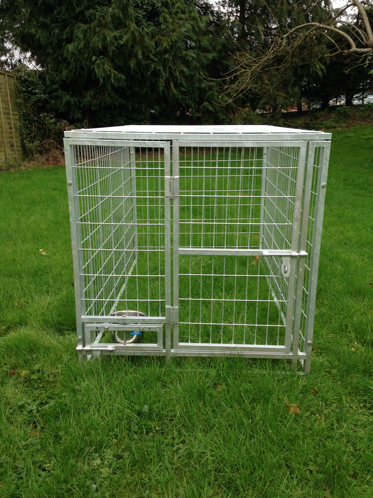 Heavy Duty Dog Kennel With Roof