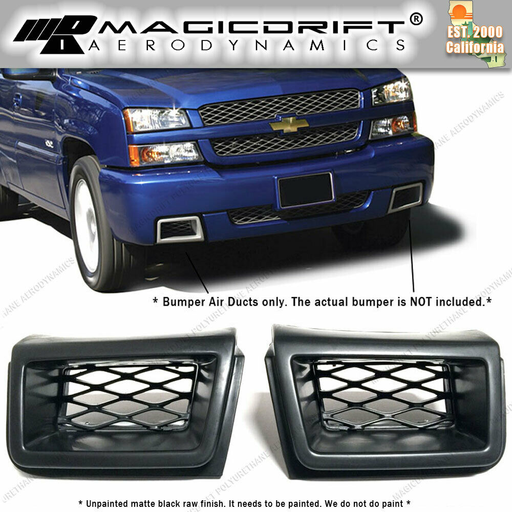 for 03 07 chevy silverado 1500 front bumper brake air. Black Bedroom Furniture Sets. Home Design Ideas