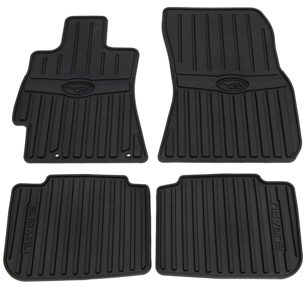 2010 2014 subaru legacy outback all weather floor mats. Black Bedroom Furniture Sets. Home Design Ideas