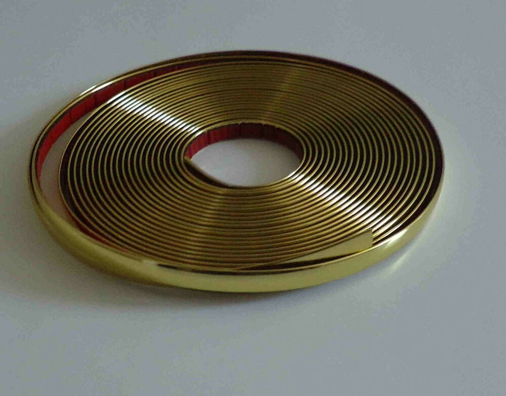 1 2 Quot 12mm X 10ft Gold Trim Exterior Interior Car Truck