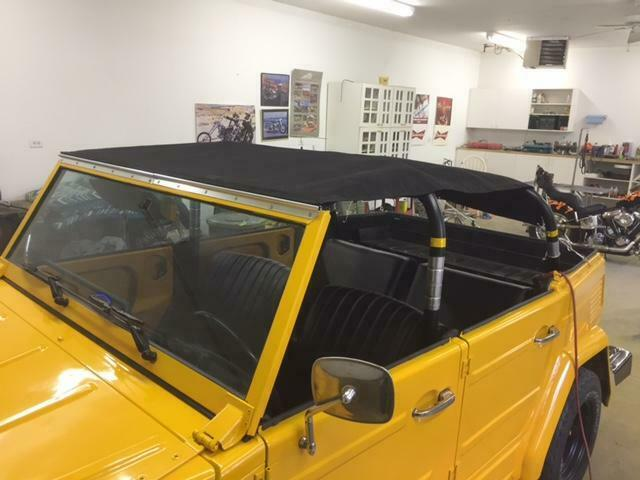Vw Thing Bikini Top Covers Canvas Tops Vw Thing Parts