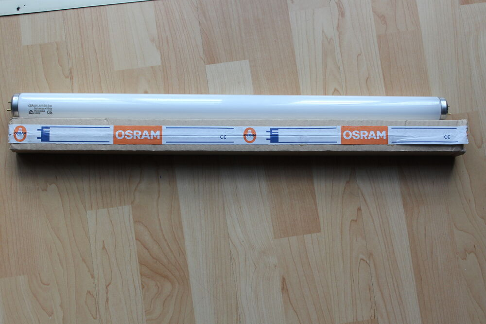 box 25 x osram l40w 23 2 40w 24 inch t12 fluorescent tube. Black Bedroom Furniture Sets. Home Design Ideas