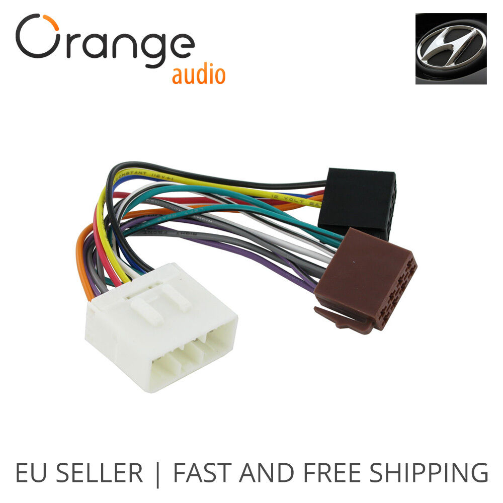 wiring harness adapter for hyundai iso connector stereo