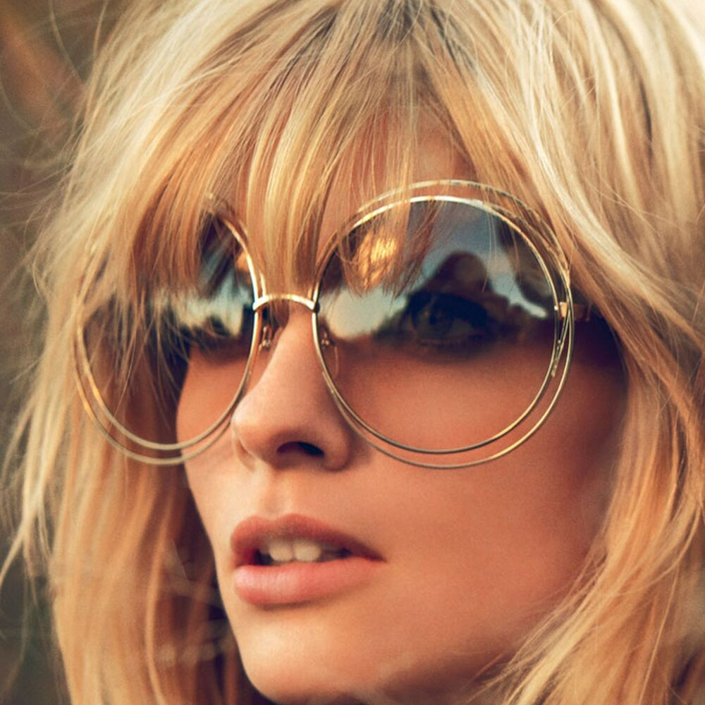 big round oversized double wire rim sunglasses metal frame retro xxl shades ebay