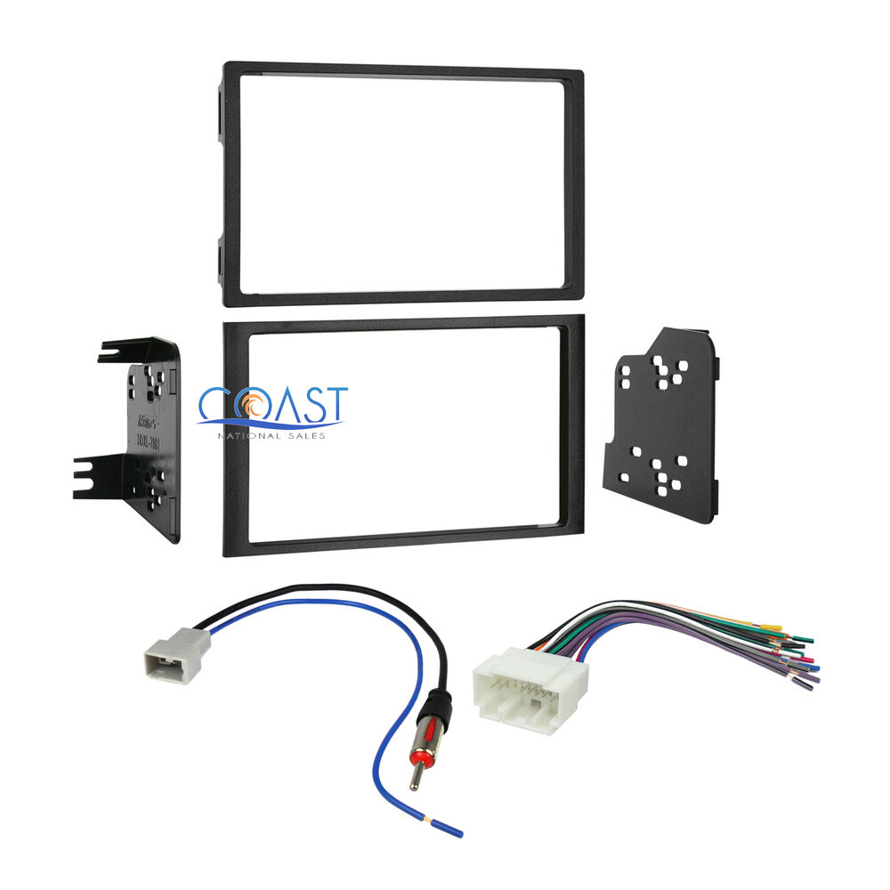 car stereo double din dash kit wire harness antenna for 2006 2008 car stereo double din dash kit wire harness antenna for 2006 2008 honda pilot