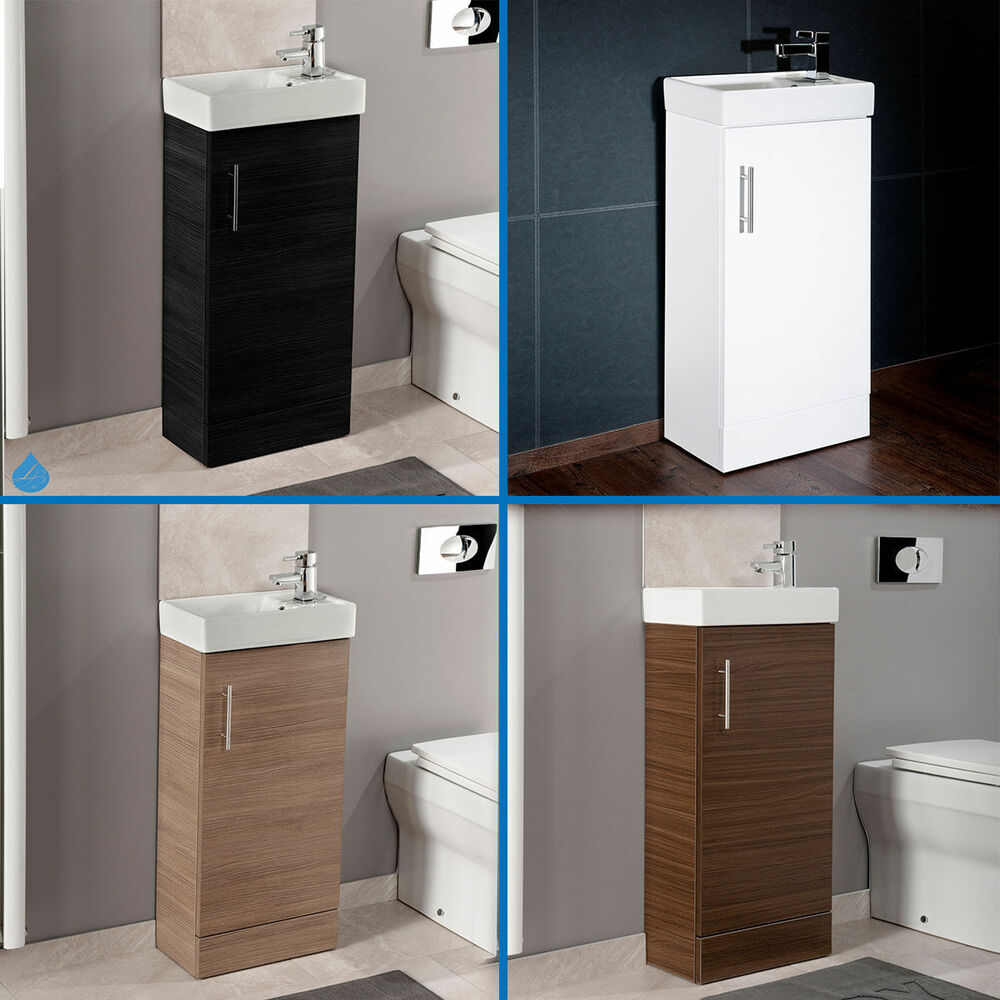 Minimalist cabinet 400mm freestanding vanity unit basin for Bathroom cabinets 400mm