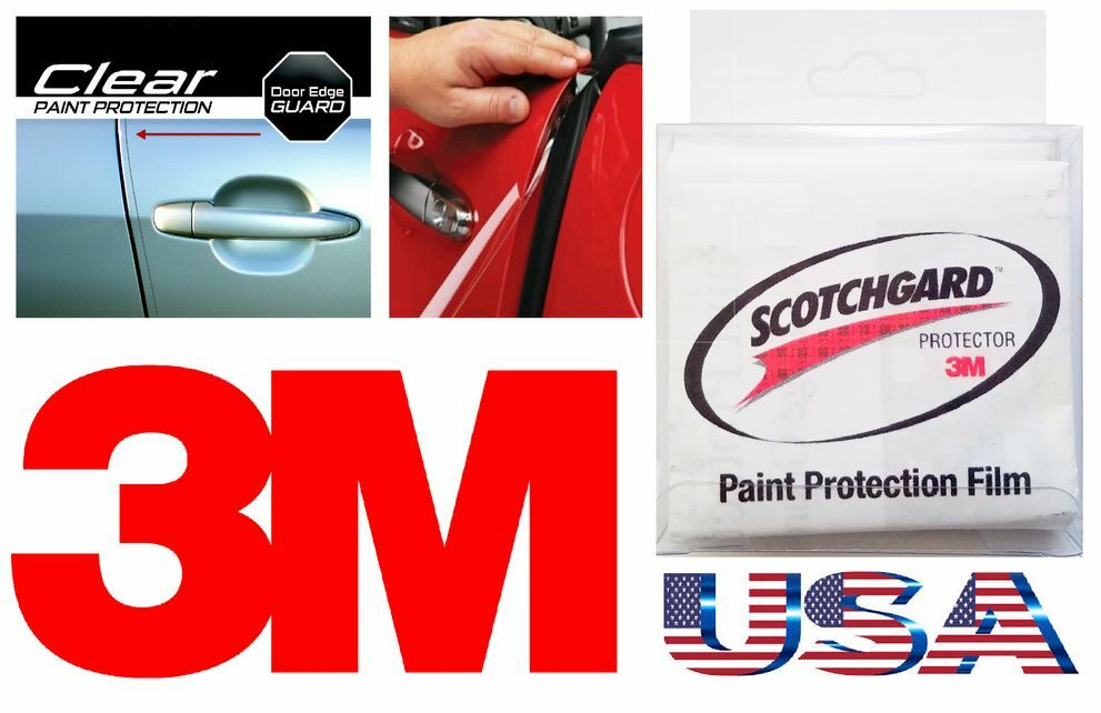 3m 4 Door Edge Scratch Clear Guard Trim Protector Film