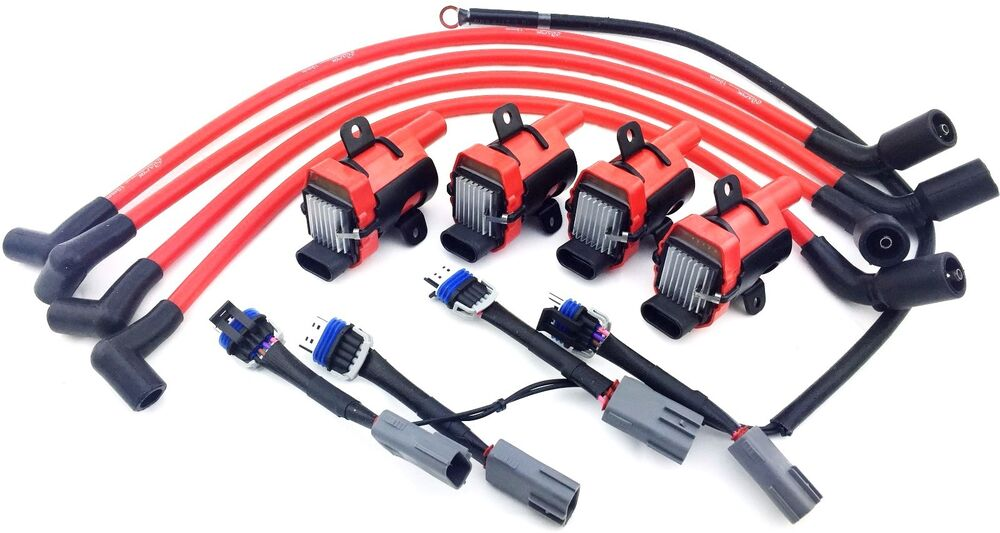 d585 uf262 ignition coil packs mazda 10mm wires rx 8 rx8 adapter wiring harness ebay