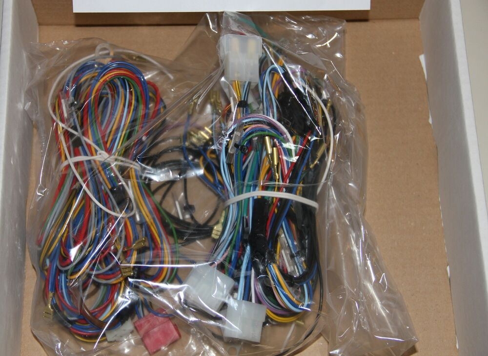 Classic Fiat 500 D Electrical Wiring Kit Wiring Loom Harness High Quality