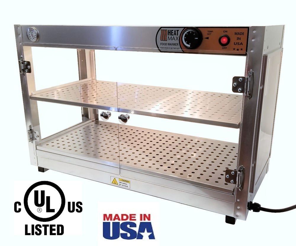 Industrial Food Warming Boxes ~ Commercial food warmer heatmax pizza patty