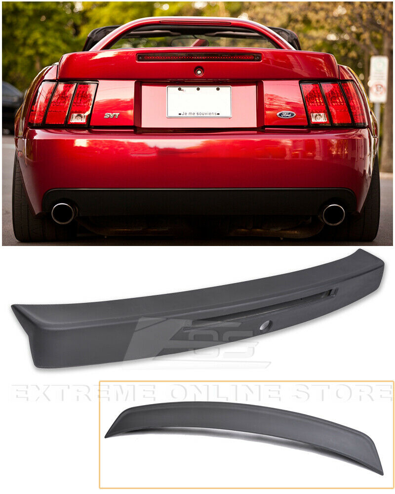 for 99 04 ford mustang cbr style rear trunk spoiler wing w. Black Bedroom Furniture Sets. Home Design Ideas