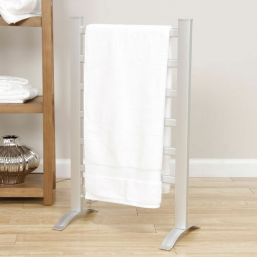 bathroom towel warmer and drying rack freestanding wall. Black Bedroom Furniture Sets. Home Design Ideas