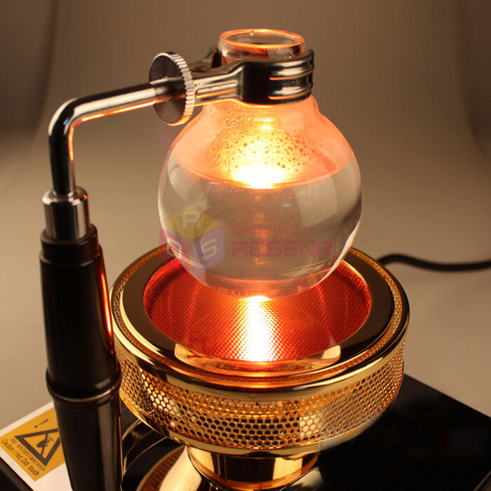 Syphon Coffee Maker History : Halogen Beam Heater Burner Infrared Heat for Hario Yama Syphon Coffee Maker NEW eBay