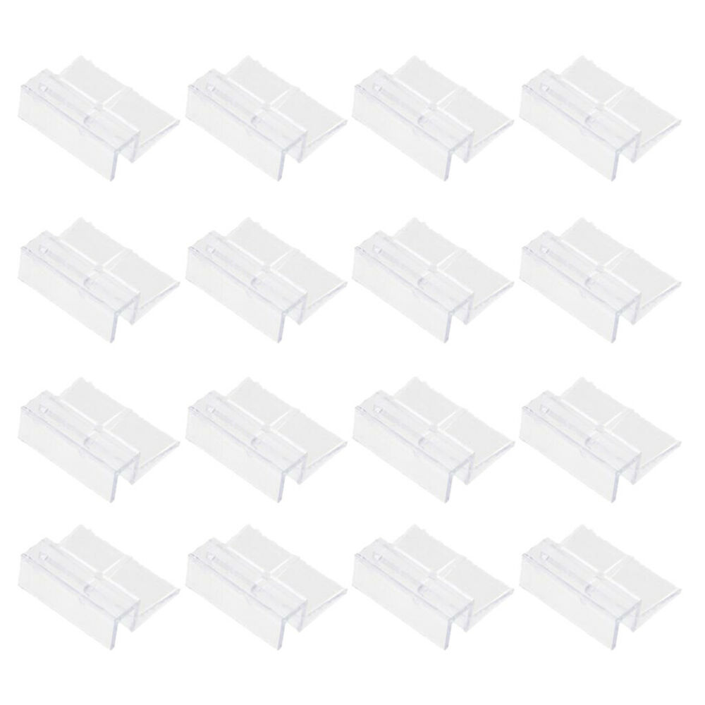 16pcs aquarium fish tank plastic clips glass cover strong for How strong is acrylic glass