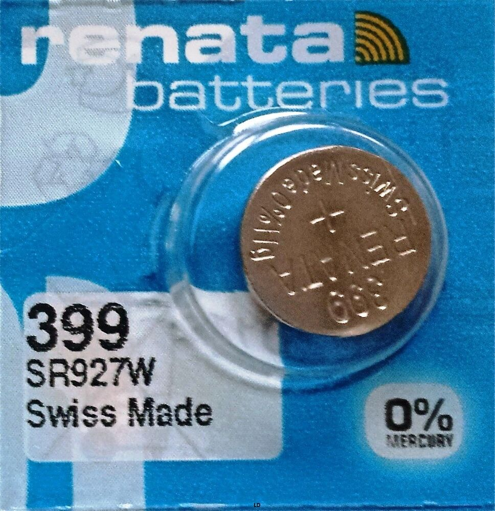 399 renata sr927w watch battery authorized seller free shipping ebay for Watches battery