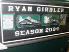 Penrith Panthers Rugby League Ryan Girdler signed 2004 NRL Season game boots
