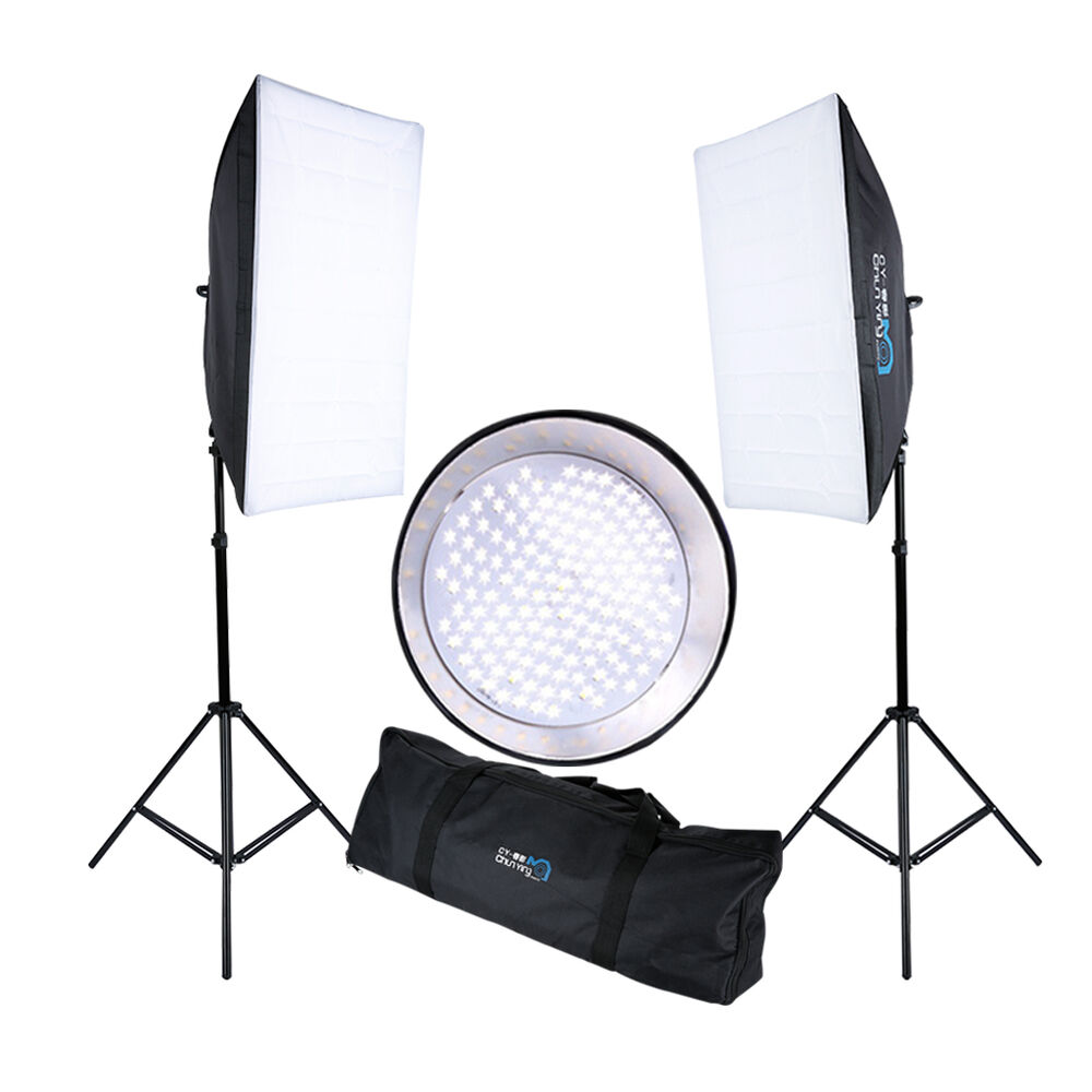 Portable Studio Photography LED Continuous Lighting Kit