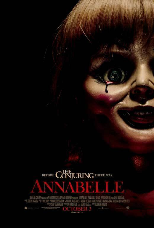 annabelle movie poster licensednewusa 27x40quot theater