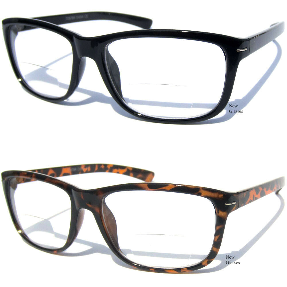 bifocal reading glasses clear lens readers aviator fashion