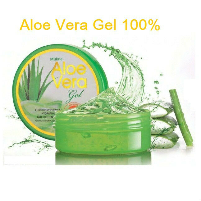 mistine aloe vera gel 100 pure organic soothing gel. Black Bedroom Furniture Sets. Home Design Ideas
