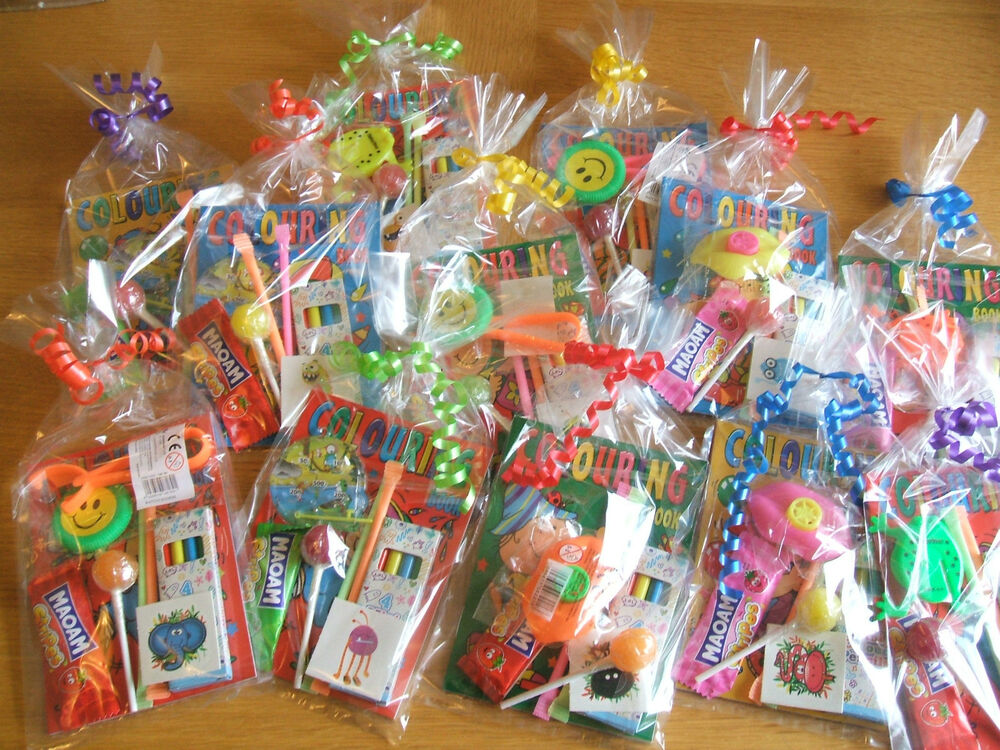 Pre Filled Childrens Unisex Party Bag Birthday Wedding