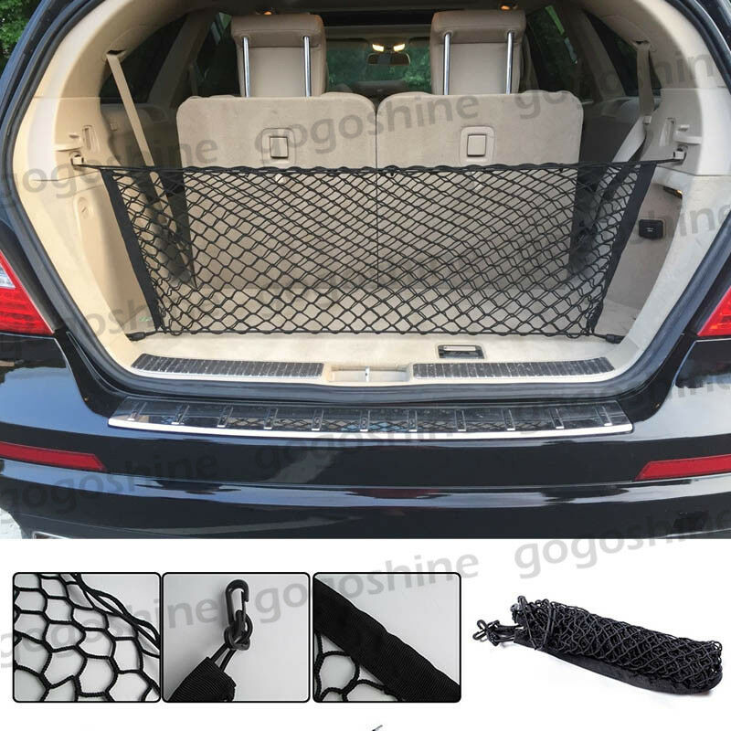 Vehicle Cargo Nets : Trunk cargo nets car hatchback suv rear boot luggage