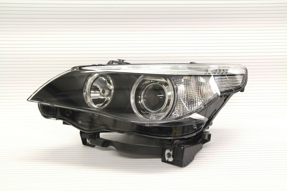 New Genuine Bmw E60 E61 5 Er Front Headlight Bi Xenon