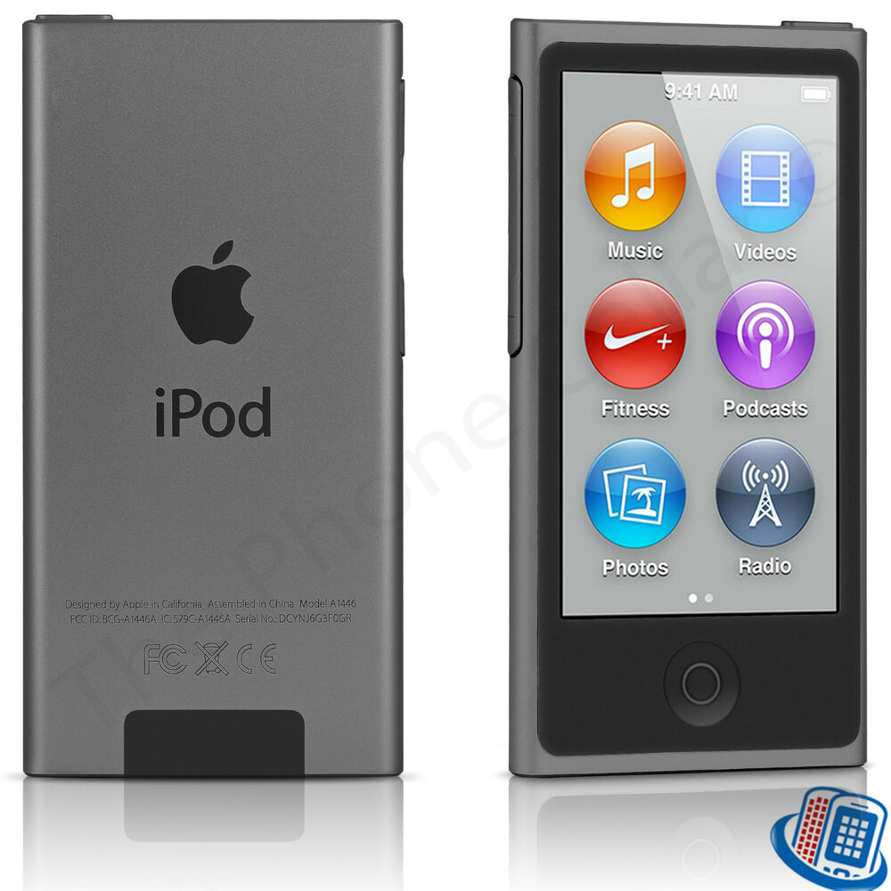apple ipod nano 8th generation space gray 16gb bluetooth. Black Bedroom Furniture Sets. Home Design Ideas