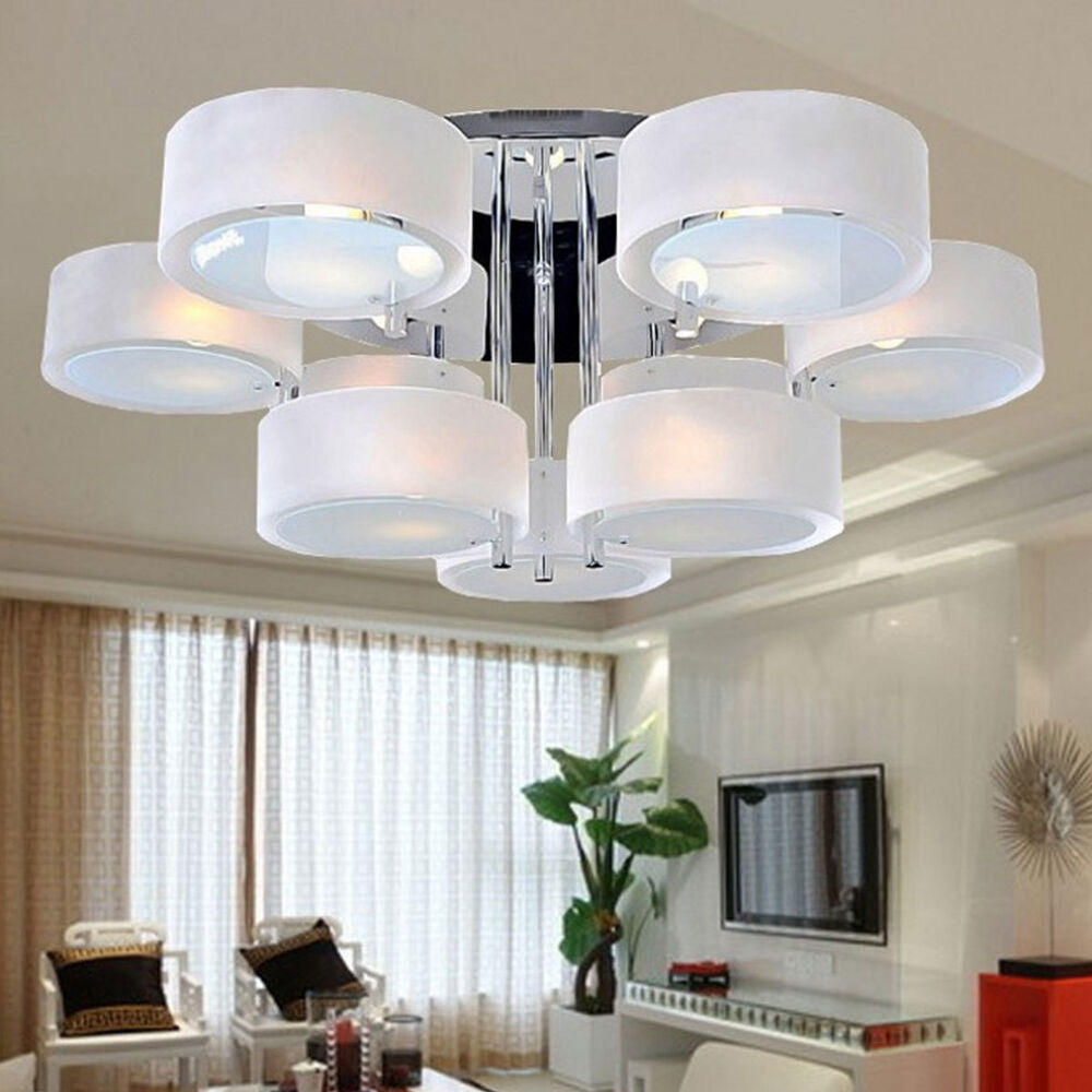 Simple Pendant Light: Acrylic Chandelier Modern Simple Ceiling Light Lamp