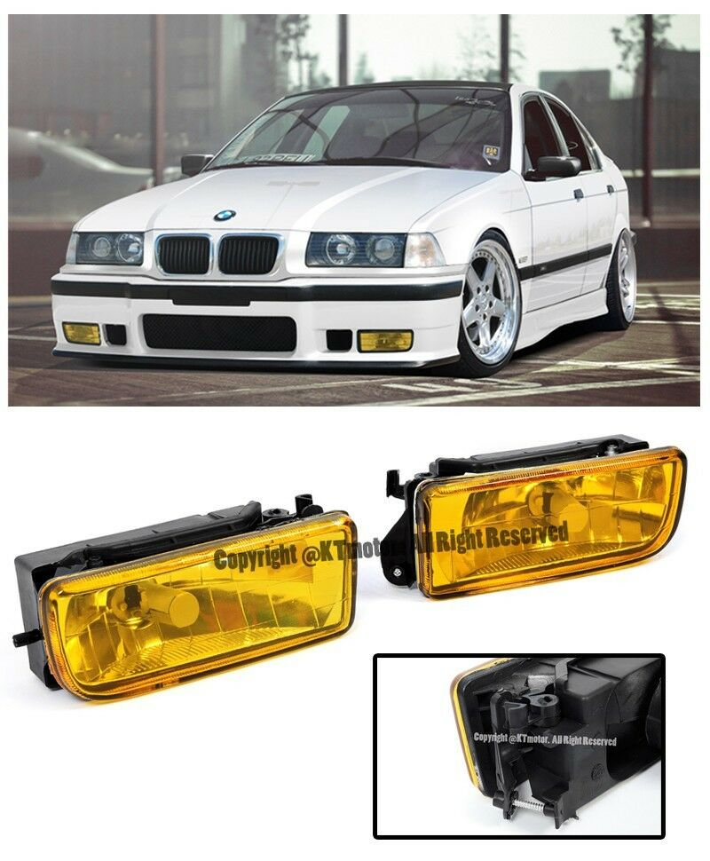 For 92 98 Bmw E36 3 Series M3 Style Front Bumper Crystal