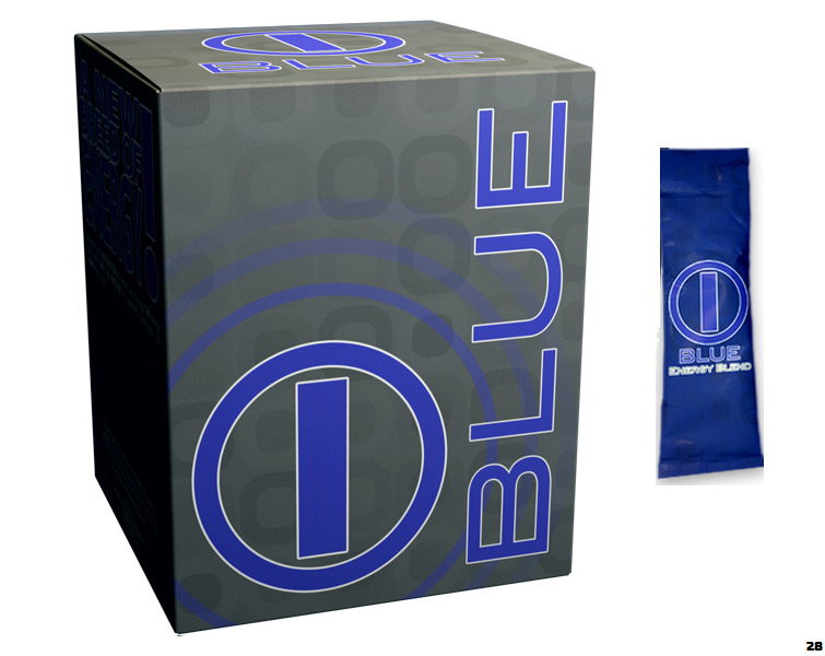 Blue Energy Blend by BHIP GLOBAL - Energy Drink for Fitness + Weight ...