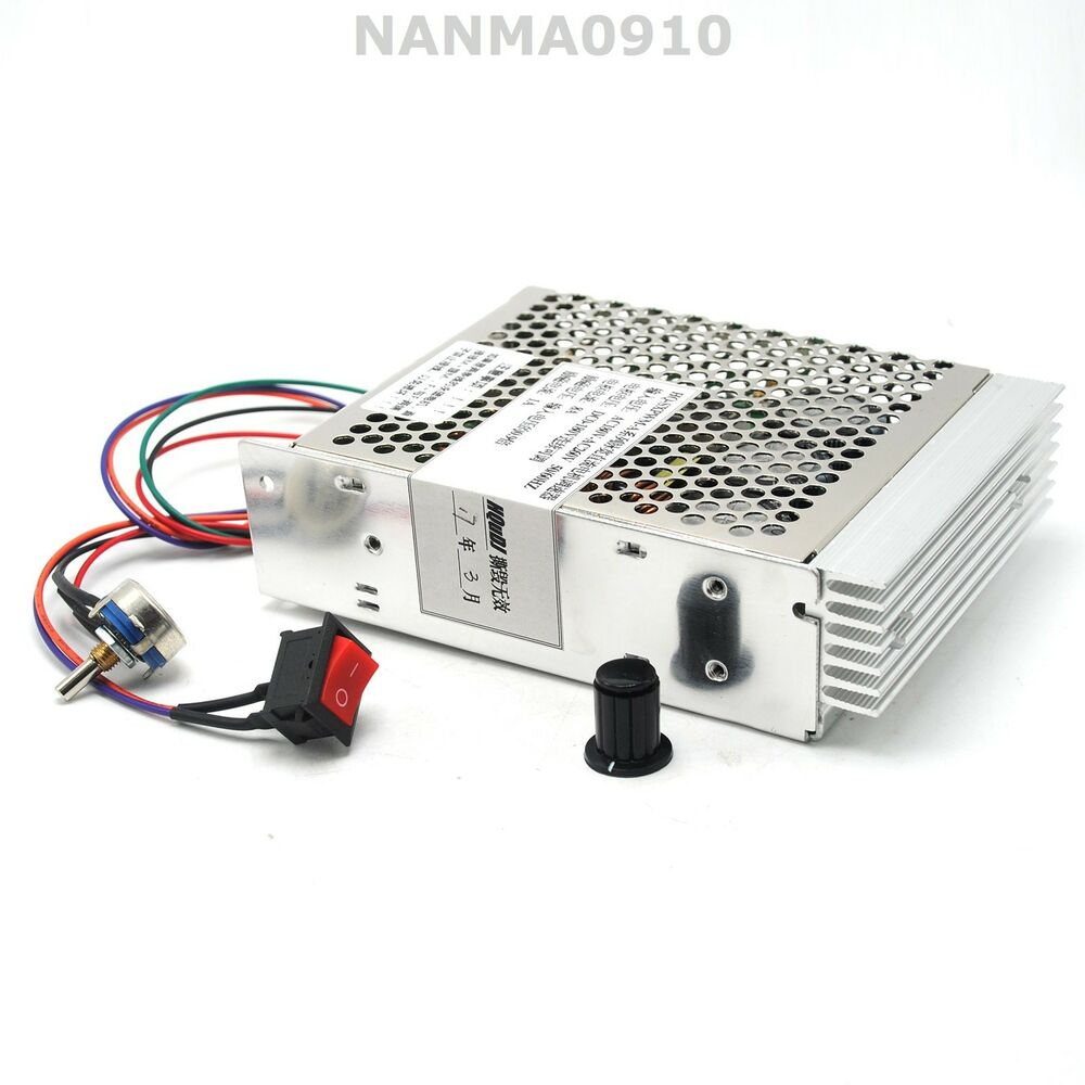 Pwm dc motor speed controller ac180v 260v input dc180v for Motor with speed control