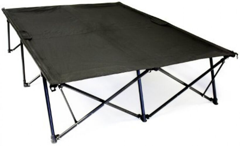 Heavy Duty Portable House : Bed in a bag portable camping cot foldable double home